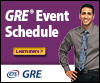 GRE Student Events Graphic