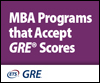 MBA Programs that Accept GRE Scores