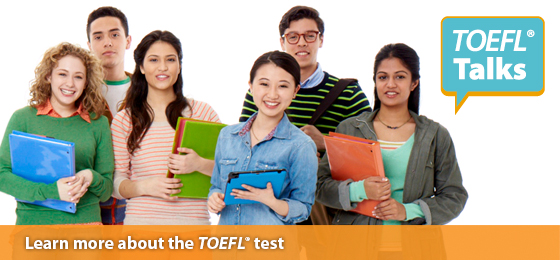 Learn more about the TOEFL test with a free TOEFL Talks Seminar