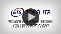What is the TOEFL ITP® Test Video