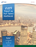 2017 Report on Test Takers Worldwide